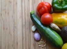 Carpaccio de courgettes et tomates